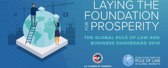 Dr David Torstensson and U.S. Chamber of Commerce launch new fourth edition of the Global Rule of Law and Business Dashboard