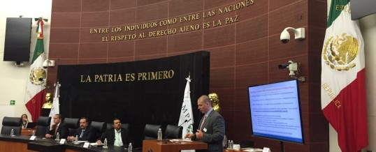 Pugatch Consilium at the Mexican Senate and IMPI event on promoting economic development and industrial competitiveness in Mexico